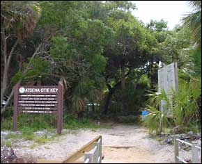 Entrance to Atsena Otie Key