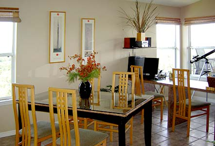 Dining area in Tranquility - Cedar Key Vacation Rental